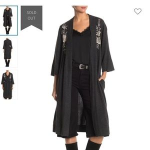 New with tag Johnny Was cashmere kimono